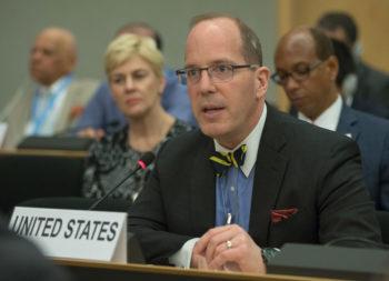 USA sous-Secrétaire d'État américain Christopher Ford. web3-350x253