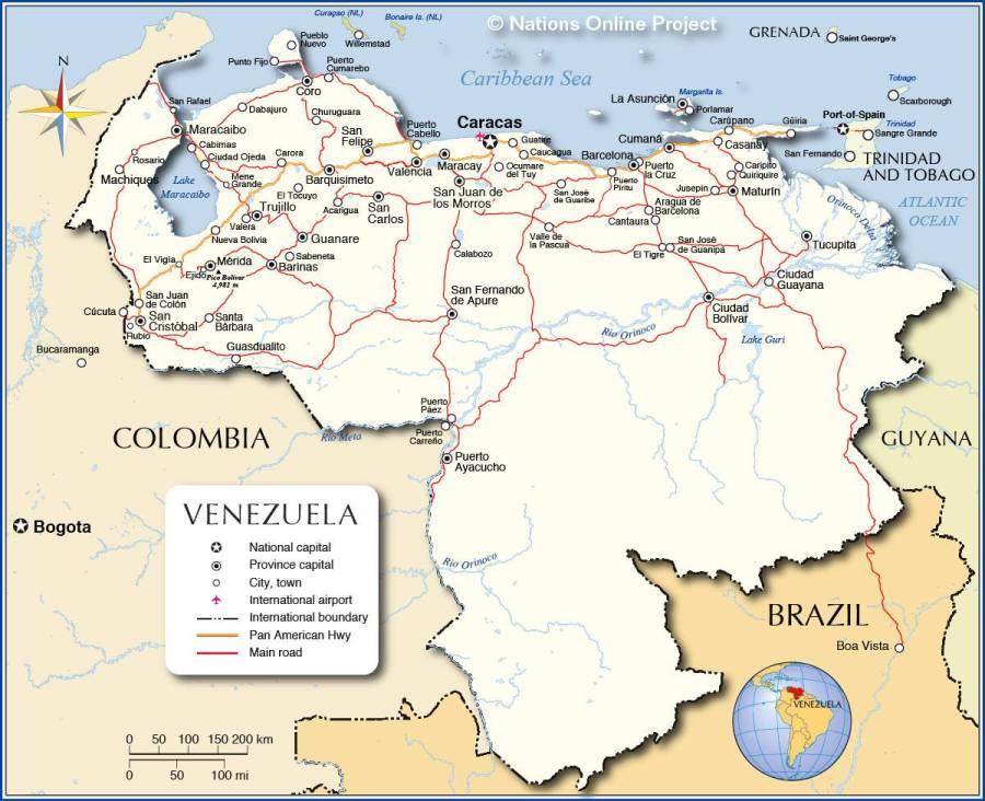 venezuela-carte