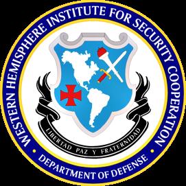 AMERIQUES École des Amériques, académie militaire gérée par les États-Unis WHINSEC-Seal