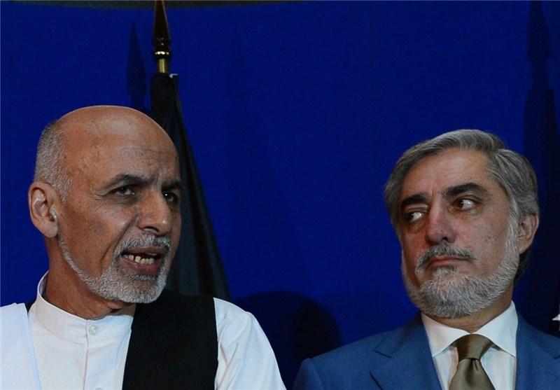 le 11 mai, le Président afghan Ashraf Ghani et l'ancien chef de l'exécutif Abdullah Abdullah 139306281131436233663574