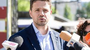 le candidat du PO, Rafał Trzaskowski index