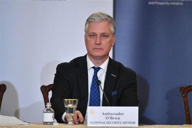 Le Conseiller américain à la sécurité nationale, Robert O'Brien, 8630836