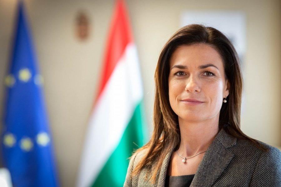 Le ministre de la Justice, Judit Varga, judit-varga-putsch-1