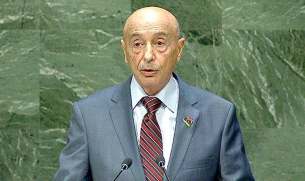 Le Président de la Chambre des députés de la Libye Aguila Salah Issa B0PujITCYAE3vwP