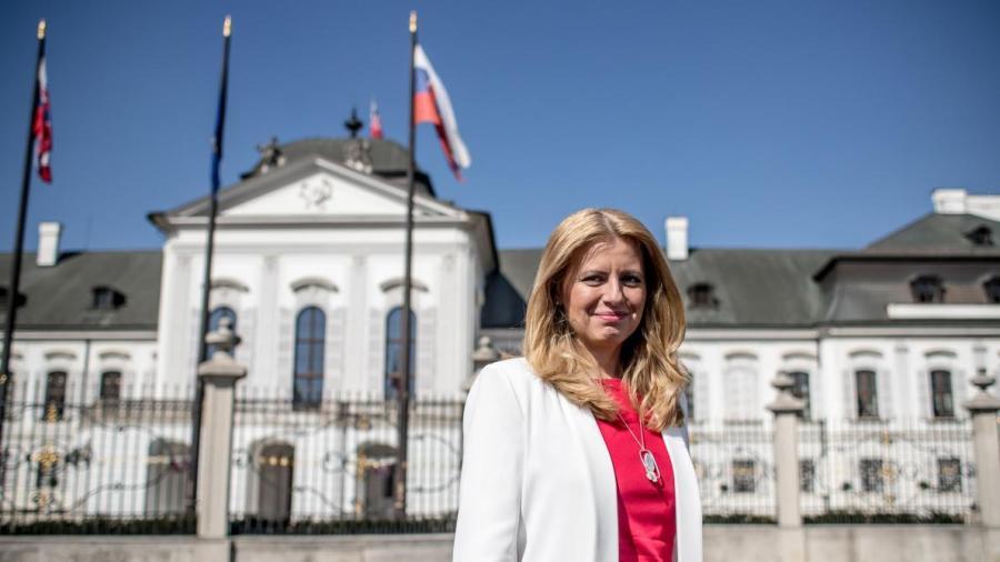 Le président slovaque, Zuzana Čaputová B9719092979Z.1_20190331213556_000+GK2D9S926.2-0