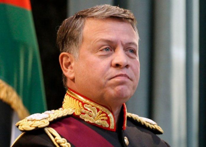 le roi Abdallah DE JORDANIE 2020