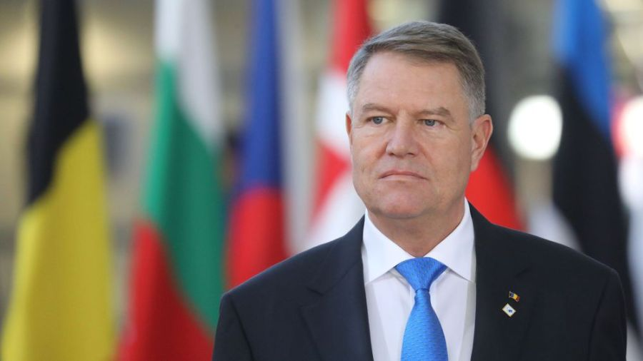 président roumain Klaus Iohannis le-president-roumain-klaus-werner-iohannis-a-bruxelles-le-13-decembre-2018_6141096