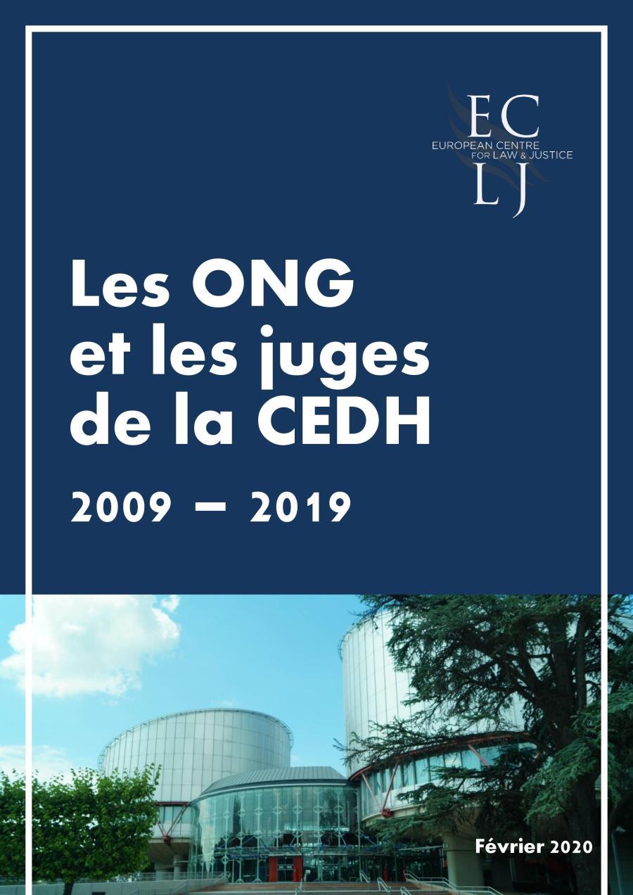 Rapport ECLJ, Les ONG et les juges de la C EDH, 2009 - 2019, février 2020-page-001