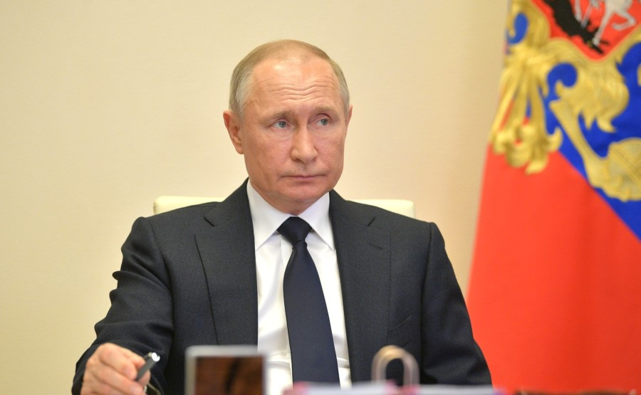 RUSSIE 15.05.2020 PH 2 SUR 2 Rencontre avec des membres gouvernementaux. yfSo6pzuAyfvutHGZW3YSV96iZASx3AB