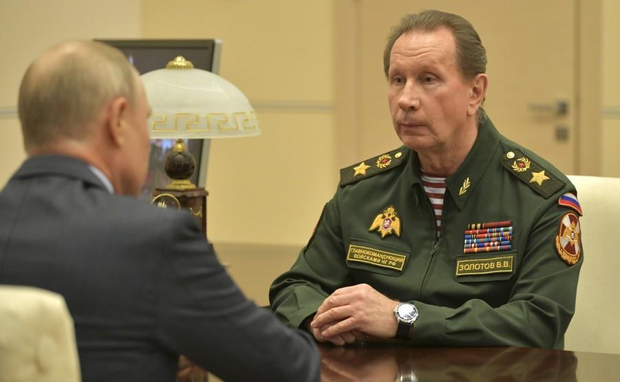 RUSSIE 2 SUR 3 MAI 2020 Avec le directeur du Service fédéral des troupes de la garde nationale Viktor Zolotov. 3ZLL3Nzz4GNCcg3Rvpi1K5DNHAAEPRIa