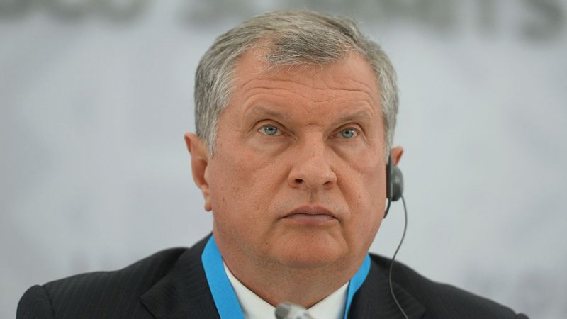 russie Chef de Rosneft Igor SechinGettyImages-479923912