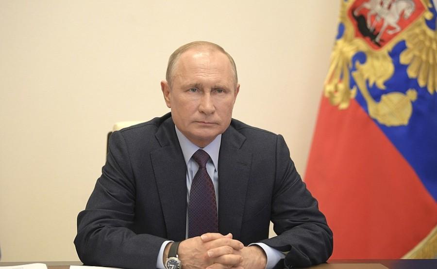 RUSSIE PH 2 SUR 3 LE 06.05.2020 Réunion sur la mise en œuvre de mesures de soutien à l'économie et à la sphère sociale. g8M012fqz8aWnmboRHlsAhgs0OuNDDj1