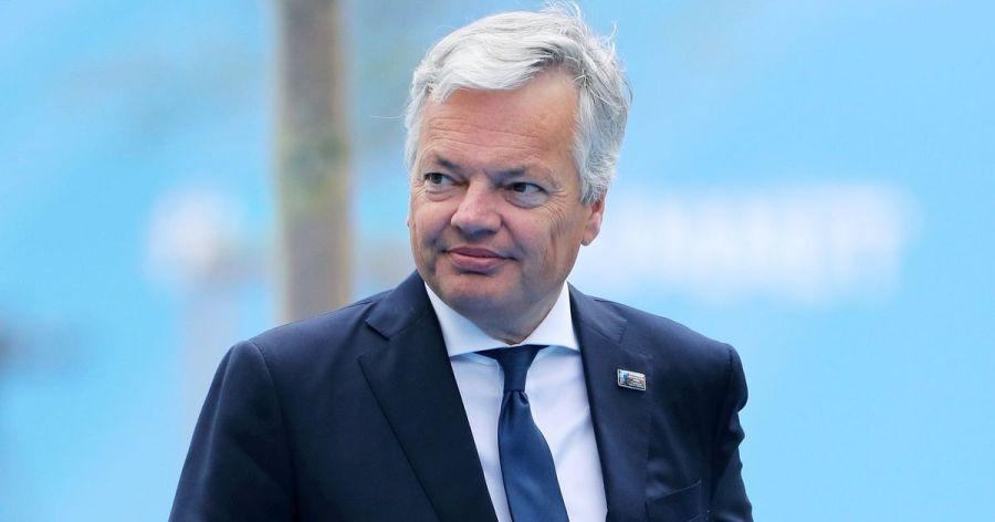 UE Le commissaire européen à la Justice Didier Reynders 5d7e4d3e2400002e2a7b08fe