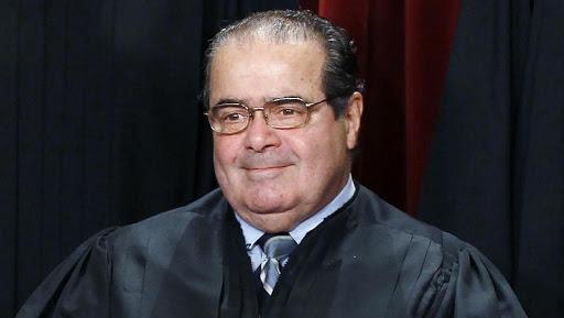 UE le juge dissident Antonin Scalia unnamed