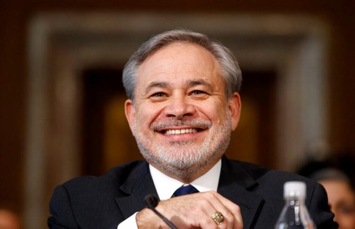 usa Le Sénat américain a confirmé lundi la nomination de Dan Brouillette au poste de secrétaire à l'EnergieAP193-1575351193