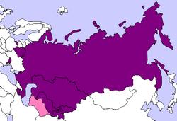 CEI etats de la cei CIS_Map