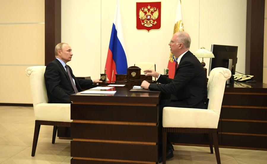PH 1 SUR 3 Rencontre avec le PDG du Fonds d'investissement direct russe Kirill Dmitriev. ehACZI8AbZLAiJz4A0Nrr6AiAASOiX38