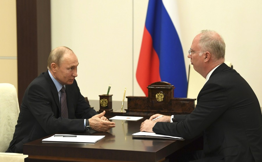 PH 2 SUR 3 Rencontre avec le PDG du Fonds d'investissement direct russe Kirill Dmitriev. oTt83qUxuMbTnwUnnoRA9O4fDR9CYaVh