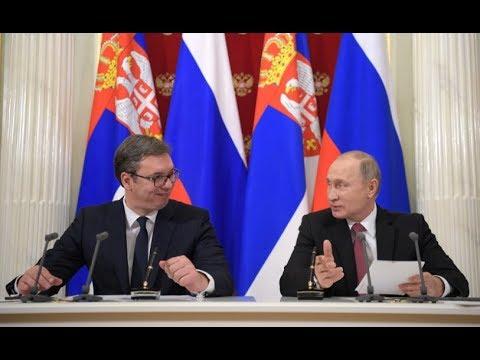 Président serbe Aleksandar Vucic & Vladimir Poutine serbie2-46116