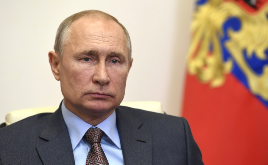 Rencontre 2 SUR 4 02.96.2020 avec le Premier ministre Mikhail Mishustin (par vidéoconférence). JvrSiAJ4XX7UeseA0R9AwrKgFd7Aqltr