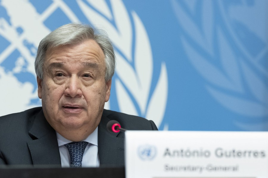 Secrétaire général de l'Onu Antonio Guterres image1024x768