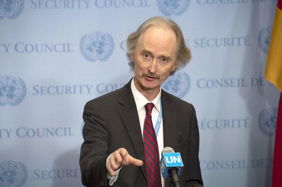 Secrétaire général de l'Onu pour la Syrie Geir Pedersen image1024x768