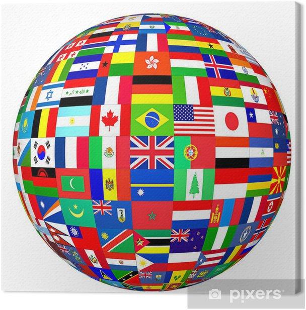 tableaux-sur-toile-monde-drapeaux