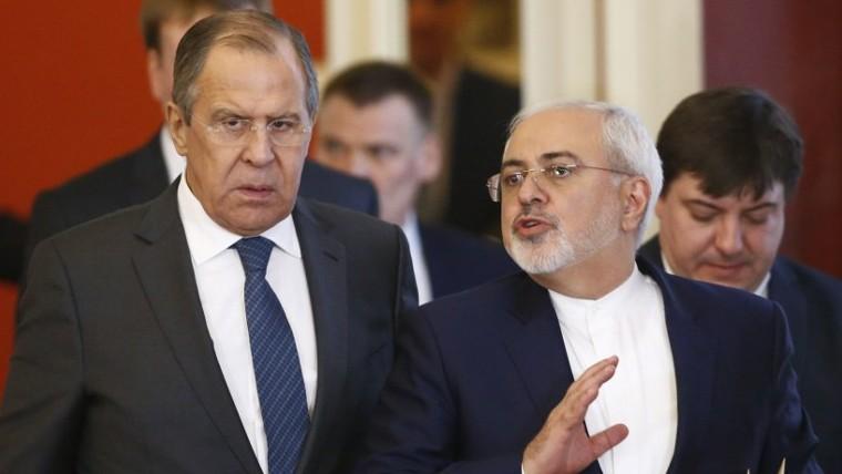 000_N23R0-e14907235307141Zarif, qui a rencontréSergei Lavrov, le ministre russe