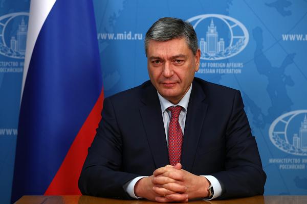 Andreï Roudenko, vice-Ministre des Affaires étrangères 3e6980247e0712a5e1c94eb68c2fb950