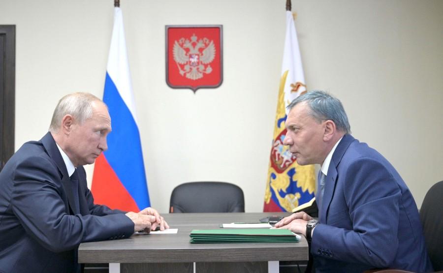 Avec le vice-premier ministre Yury Borisov. MbhGmBFt0A4y5KB7GJxsiTUeqLYasMrf