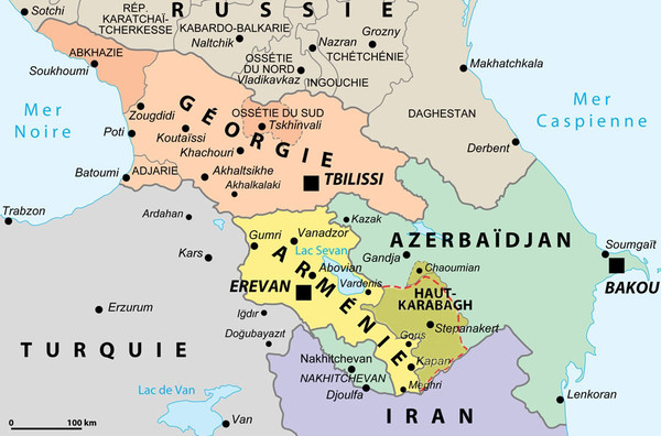 caucase-carte-politique-transcaucasie-ciscaucasie-mer-noire-mer-caspienne-decc81troit-de-kertch-pecc81ninsule-d-apchecc81ron-russie-gecc81orgie-azerbaicc88djan-armecc81nie-turquie
