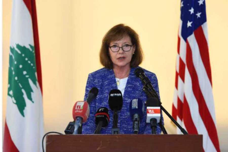 Dorothy Shea – ambassadrice des Etats-Unis au Liban Liban-l%u2019ambassadrice-US-convoquée.-'Les-guerres-US-par-procuration-sont-la-plus-grande-menace-à-notre-liberté%u2019