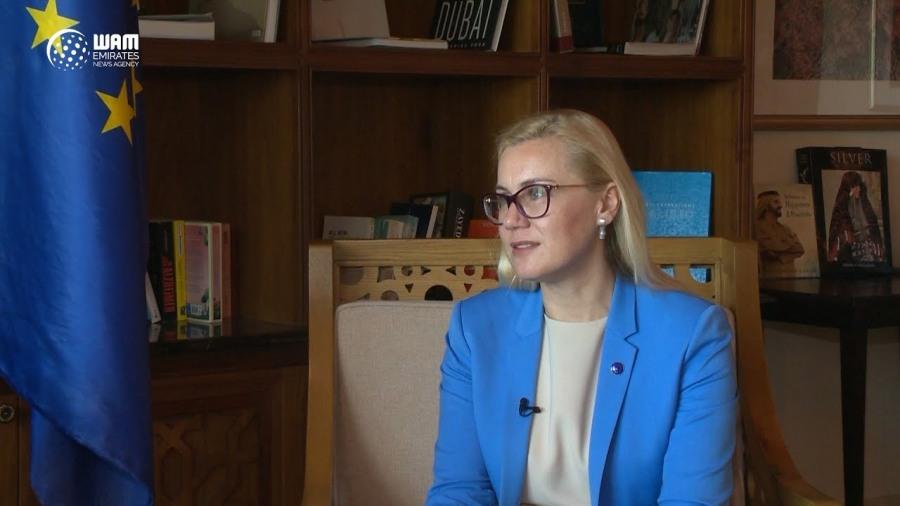 Kadri Simson, la commissaire à l'énergie maxresdefault
