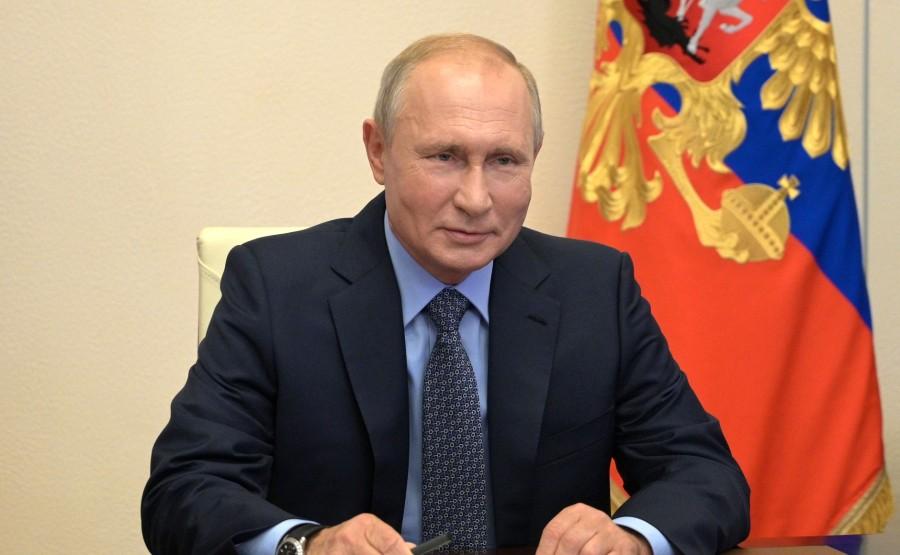 KREMLIN PH 1 W 2 - 17.07.2020 Rencontre avec les membres permanents du Conseil de sécurité (par vidéoconférence). glDdmBubUFEs5MDxFgZnBQThYFbYbGoq