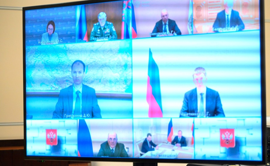 KREMLIN PH 2 W 3 16.07.2020 Réunion sur le budget fédéral pour la période de planification 2021 et 2022-2023 (par vidéoconférence). 8wEiTNkbAhOfAPEjYrwQvTBIumjw1mVX
