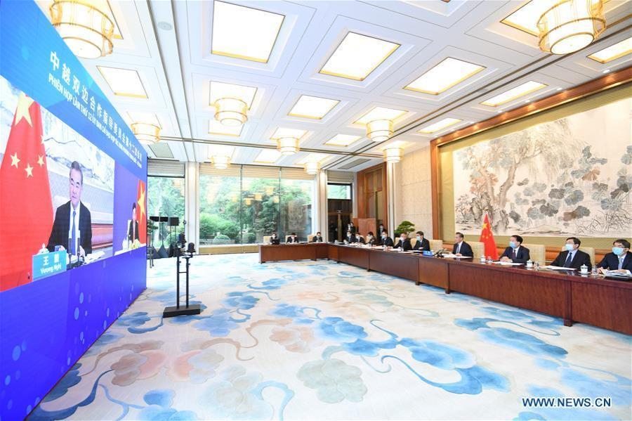 la 12e réunion du Comité directeur sino-vietnamien139231612_15953948018381nla 12e réunion du Comité directeur sino-vietnamien