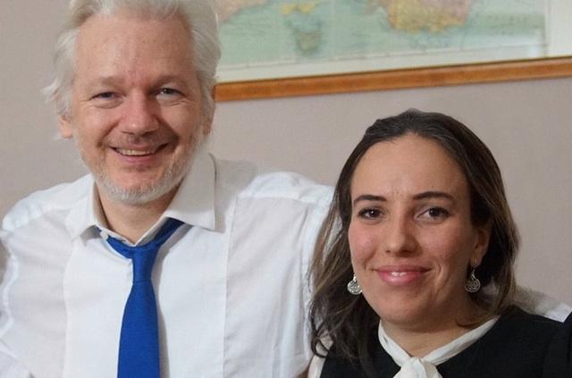 la fiancée de Julian Assange, Stella Moris mage