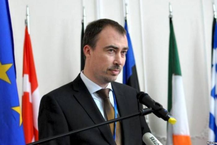Le représentant spécial de l'Union européenne (UE) pour le Caucase du Sud, Toivo Klaar 1572415178
