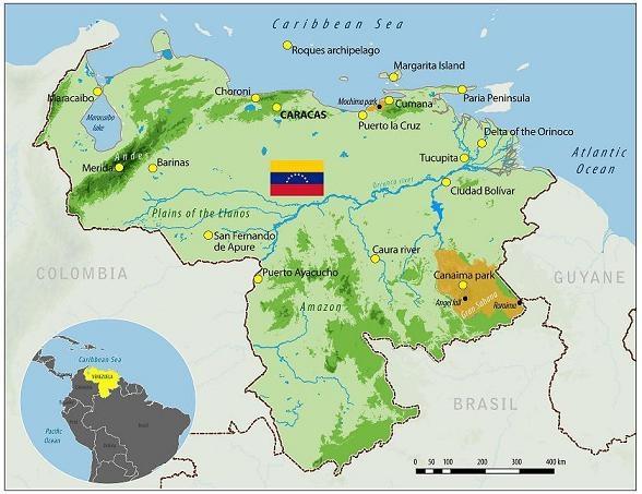 Mapa Venezuela