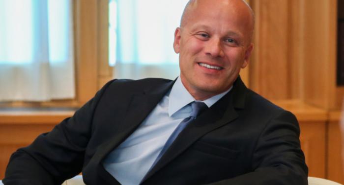 Rudolf Michalka, représentant spécial du Président en exercice de l'OSCE 39222-1540549105