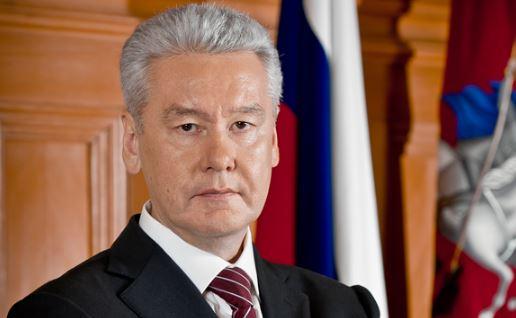 Sergei-Sobianin maire de Moscou Sergueï Sobianine
