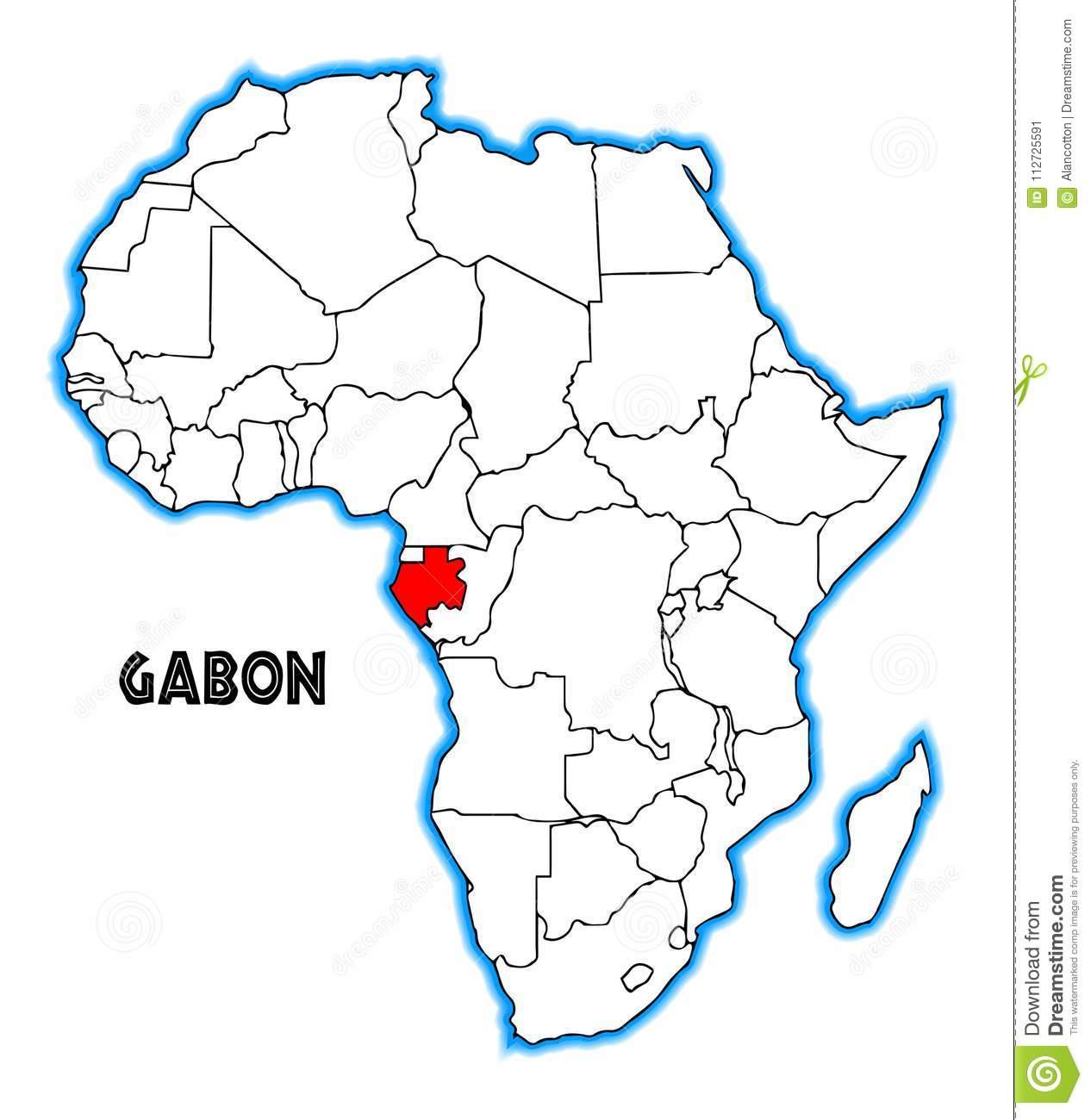 carte-du-gabon-afrique-112725591