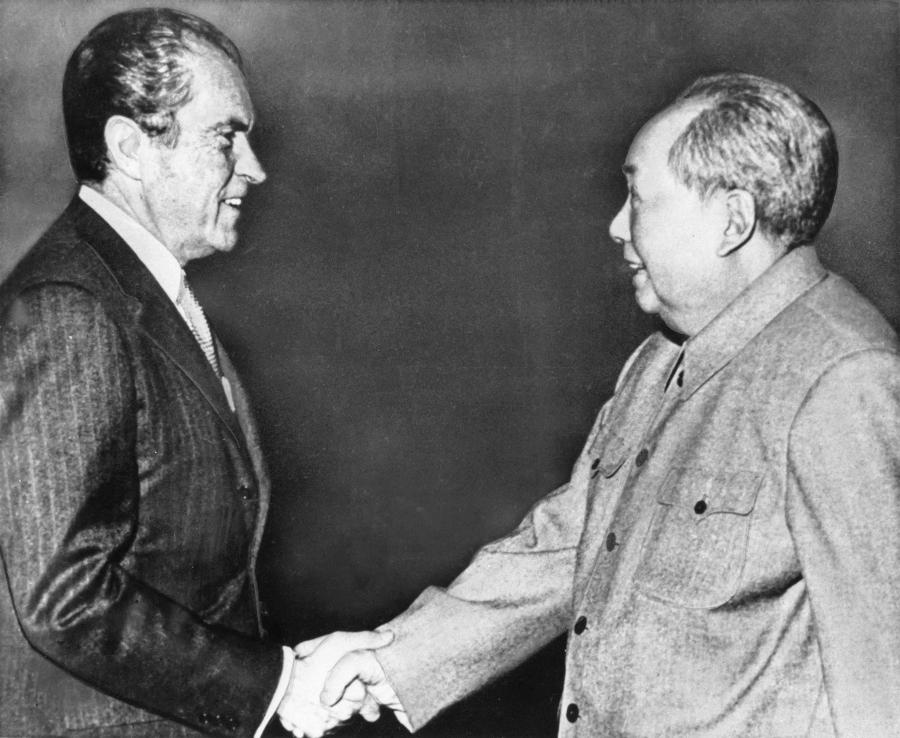 chine USA 1er janvier 1979, les deux pays ont établi des relations diplomatiques AP_070102032326