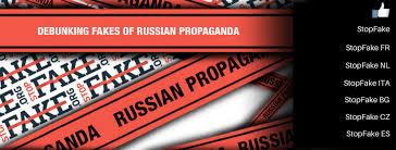 Facebook par le site ukrainien StopFake index
