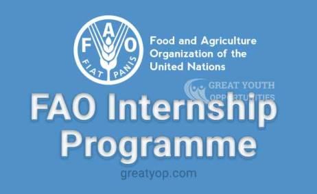 FAO-Internship-programme