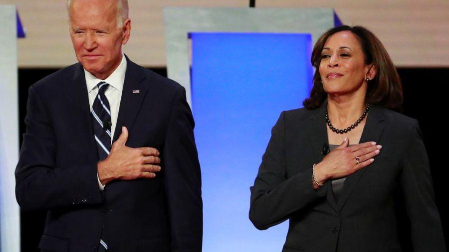 Joe Biden, candidat démocrate pour la présidence américaine, a nommé la sénatrice Kamala Harris 0603734731811-web-tete