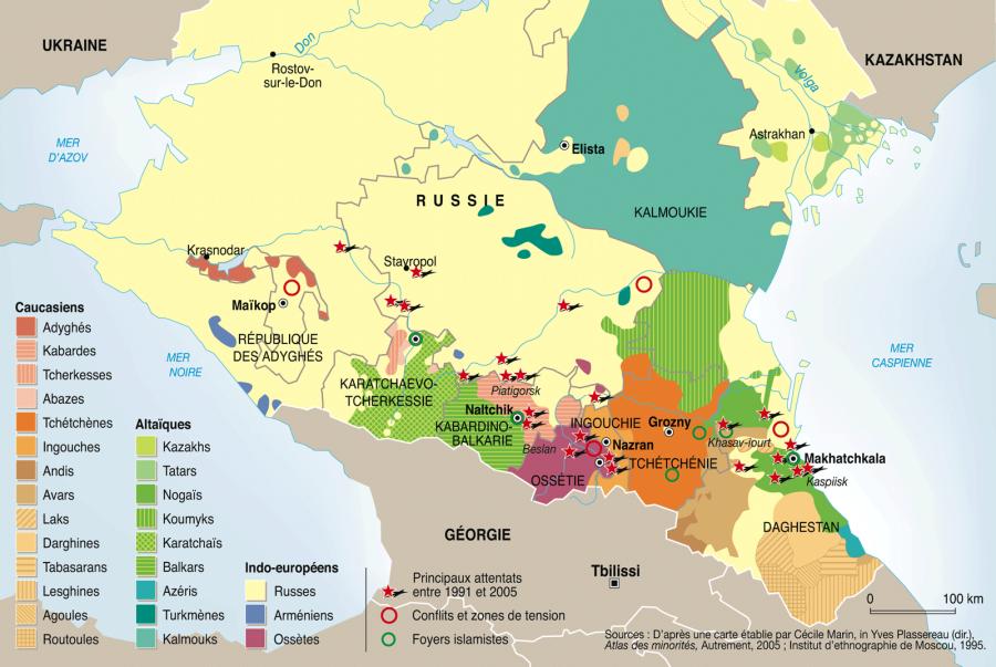 La Tchétchénie 6101v1