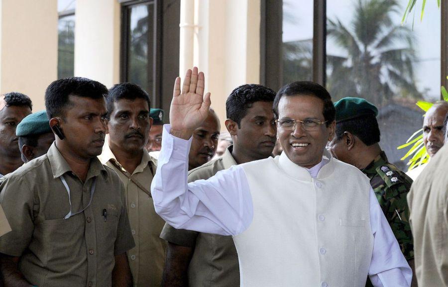 Mahinda Rajapaksa a prêté serment comme Premier Ministre à Colombo image