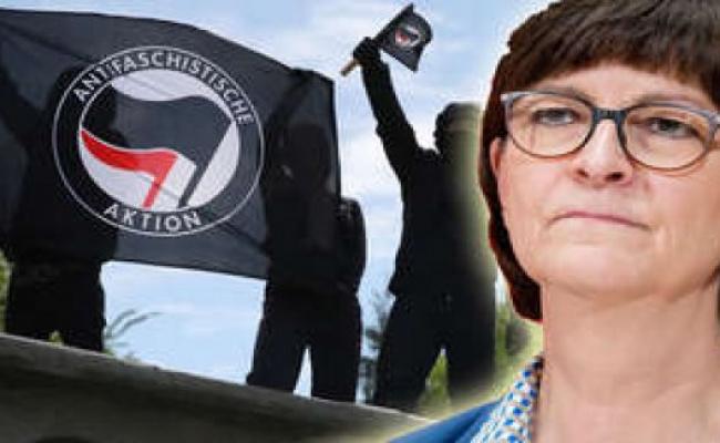 Saskia Esken la cheffe du SPD Antifa-Tweet-SPD-Cheffe-de-Esken-indigne-de-la-CDU-CSU-Incomprehensible-Betise-Politique