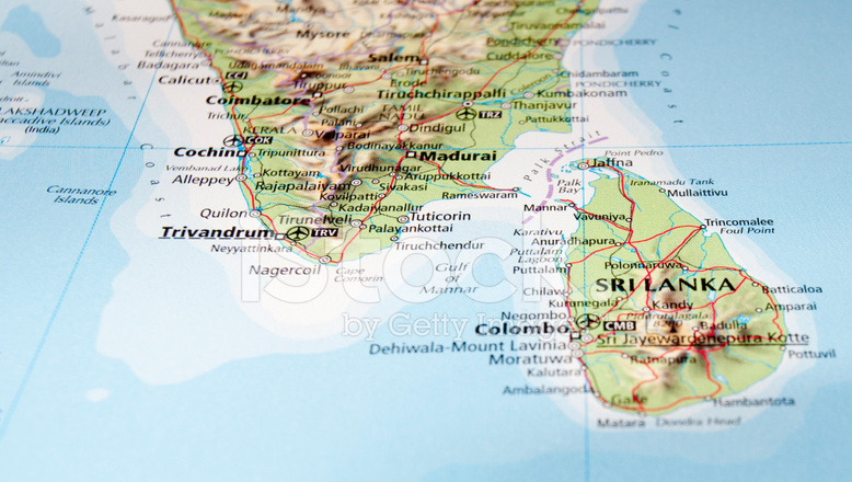 Sri Lanka 12089132-map-of-sri-lanka